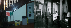 Under the Pembroke West Staircase: 2016 vs. the 1950s/60s